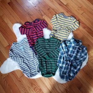 Bundle lot 24 month boys long sleeve shirts tops